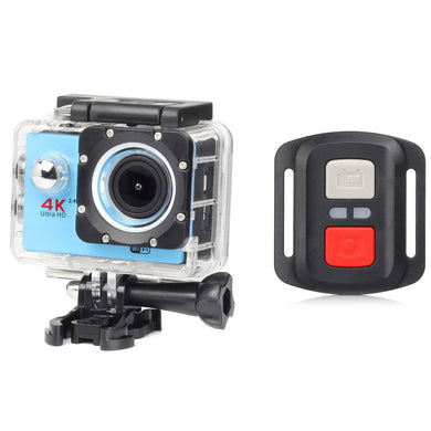 H16R Motion DV Waterproof Sports Camera 2.4G Remote Control Camera 4K Cross-Border Digital Hot Style