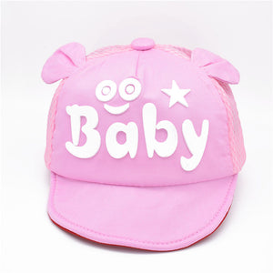 Children's Hat Summer Baby Cartoon Duck Tongue Soft Along The Hat