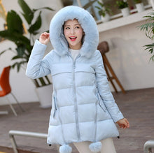 New Arrival Long Quilted Parka Women's Oversize Winter Coat