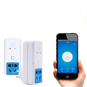 Sonoff S22 Wifi Wireless Socket For Temperature Humidity Sensor Timer Switch Wireless Remote Control Smart Home Via Phone App