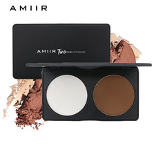 AMIIR Double Color Bronzing Powder Palette