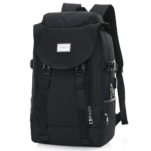 Double Shoulder Bag Male Computer Pack High School Schoolbag Big Capacity Take Leisure Travel Bag