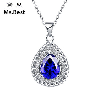 Water Drop Multi-color Pendant Necklace Pendant for Woman (pendant ONLY)