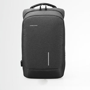 Mens Backpack The College Student's Backpack USB Computer Business Backpack 15.6 Inch