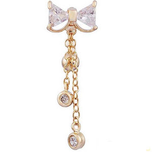 Steel Navel Piercing Belly Button Rings Crystal Piercing Ombligo Navel Earring Gold Belly Piercing Sexy Body Jewelry Pircing