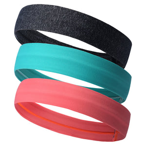 Sweatband High Quality Headband Yoga Hair Bands Head Sweat Bands Sports Safety Running Hiking Basketball Gym Outdoor