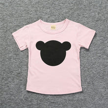 Baby Boy T Shirts For Children Clothing 2018 Brand Summer Clothes Girls Short Sleeve Bear Print 100% Cotton Kids Tops Tee Shirts