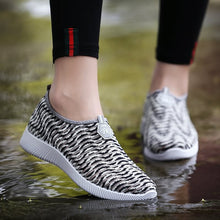 Women Mesh Cloth Sports Slip-on Light Breathable Driving Beach Shoes