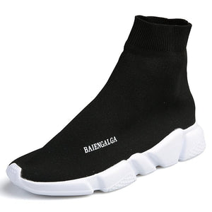 High Top Men Casual Shoes Slip On