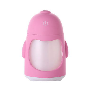 USB Penguin Humidifiers with 7 Color LED Light Air Ultrasonic Humidifier Essential Oil Diffuser Mist Maker Humidifier