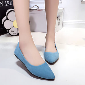 Basic Flat Shoes Multiple Color Choice