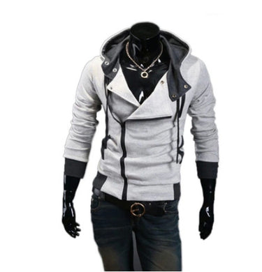 Unbalancing Zip Through Hoodie Outfit for Men