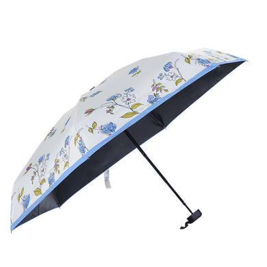 Cartoon Flowers Pattern Ultra Lights and Small Mini Folding Umbrella