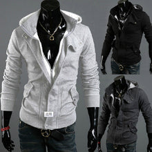 Slim Fitting Zip Hidden Autumn Fashion Hoodie Outfits