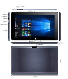 10.1 Two-In-One Tablet PC 4 Core 32G Android Windows Tablet