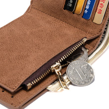 Men Purse PU Leather Male Wallets Card Coin Black Brown Wallet