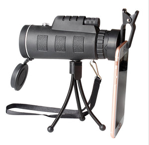 Single Tube Telescope High Magnification Mobile Phone Taking Photos Of Outdoor Sights