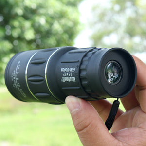 High Definition Mini portable16X52 Monocular Telescope Dual Focusing Adjustment Low Light Night Vision Spotting Living Waterproof