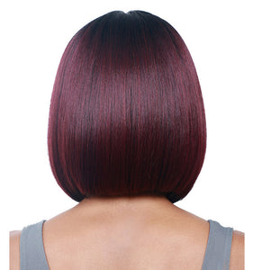 New Arrival Wig Black Wine Red Straight Hair Wig