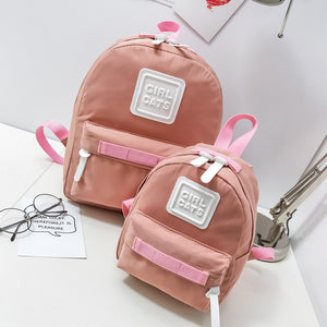 All matching Mummy Small Backpack Fresh Mini Parent-child Shoulder Bag