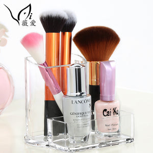 Acrylic Cosmetic Organizer for Brushes Nail Polish Display Box