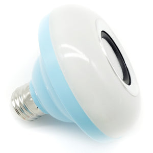 Intelligent E27 LED White Bulb Colorful Lamp Smart Music Audio Bluetooth 3.0 Speaker