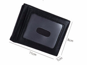 BABORRY Brand Men Wallets Leather Wallet