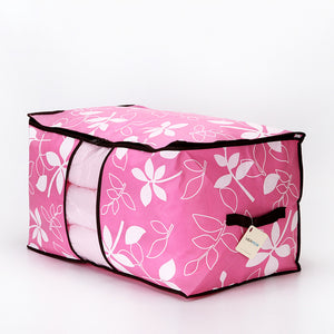 New Home Non-Woven Colorful Leaves Cotton Quilt Bag Can Be Window-Friendly Quilt Pouch