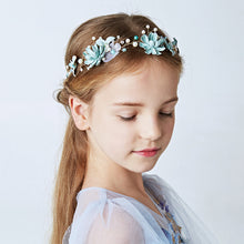 Headband Princess Girls Headdress Hairband Ornament Simulated Pearl Headpiece Floral Teens Hair Accessories Gift