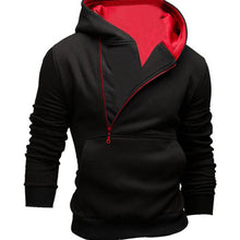 Half Zip Men Hoodies with Kangaroo Pocket