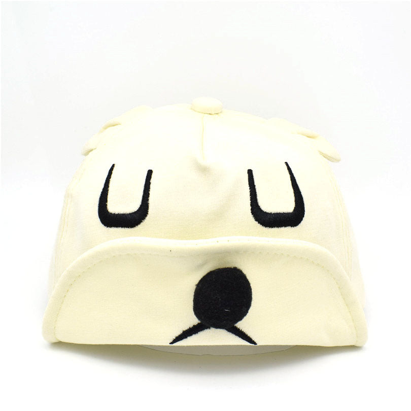Cartoon Hippie Dog Soft Hat Baby Cap Baby Cap Autumn New Baby Baseball Cap