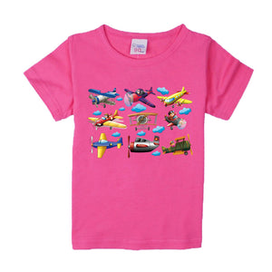 Planes Cartoon Printing Children Kids