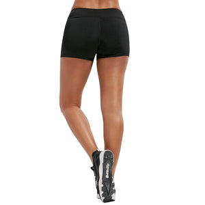 Highly Elastic Tight Fitting Quick Dry Shorts for Women