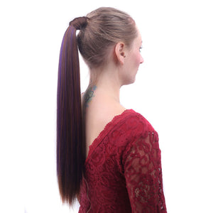 Long Straight Pony Tail Clip-in Hair Extension