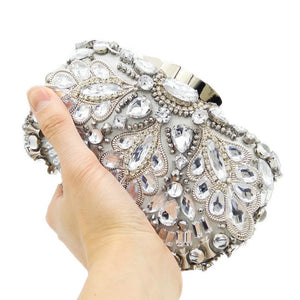 New High Grade Handmade Pearl Studded Dinner Bag Of Luxury Bead Embroidered Bag With A Bag Of Evening Bags