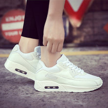 Vibration Aborption Shoe Sole Solid Color Running Sneakers