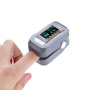 Portable Finger Clip Medical Home Blood Oxygen Instrument Pulse Heart Rate Blood Glucose Meter To Measure Blood Oxygen Saturation Blood Pressure Meter