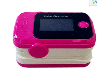 Blood Oxygen Instrument Is An Adult Pulse Oximeter Heart Rate Meter Test