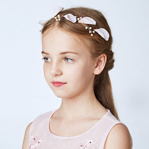 Hair Clips for Girls Alloy Barrettes Flower Girl Wedding Pageant Headpiece Hair Accessories Teens Birthday Party Gift