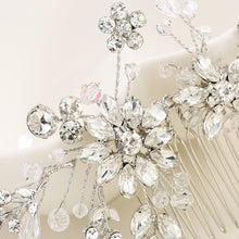 High Quality Brand Quality Water Drill Hair Comb High-End Glass Bride Jewelry Hair Ornaments Wedding Dress Accessories