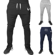 Street Fashion Pure Color Drawcord Adjustable Waist Long Trousers
