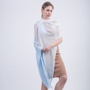 Off Color Long Voile Fashion Scarves for Women