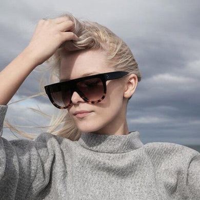 Thickened Shield Sunglasses Women's Fashion Daily Accessories