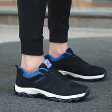 Autumn Men's Sneakers Travel Men's Shoes Running Breathable Platform Shoes Casual Shoes Outdoor Shoes