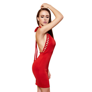 New Club Suit Hang Neck Dress Miss Nightclub Clothing Manufacturers Direct Marketing