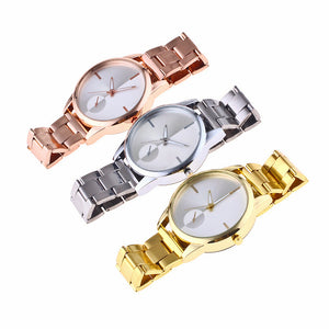 TAI CHI Design Steel Band Analog Quartz Watch