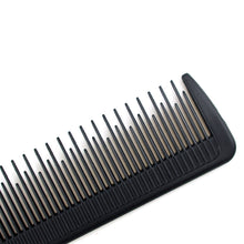 Makeup Artist Special Carbon Point Comb Hairdressing Area Plastic Comb High Temperature Anti-Static Hair Comb