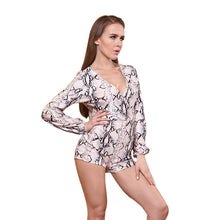 Club Night Club Long Sleeve Printing Hot Style Sexy Sexy Pajamas