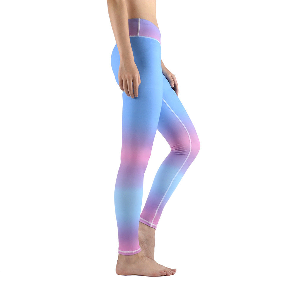 Off Color Tight Fitting Training Pants