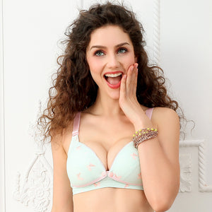 Sexy Push Up Front Open Maternity Nursing Bra Pregnant Women Underwear Lingerie Pregnancy Nurse Wear Breast Feeding Bra Clothes